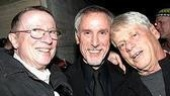 Wicked&amp;#39;s George Hearn with conductor Robert Billig and Robert Morse.