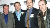 Co-stars Larry Bryggman, Boyd Gaines, Michael Mastro and John Pankow.