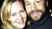 Adorable couple Rebecca Luker and Danny Burstein.