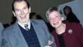 Richard Easton and Anne Kaufman Schneider.