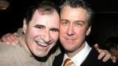 Former Spin City buddies Richard Kind and Alan Ruck toast their new pairing...