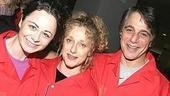 Wicked tour star Carol Kane (center) with Geraldine Hughes of Belfast Blues and former Taxi cohort Tony Danza.