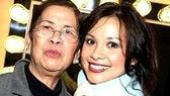 Lea Salonga with her biggest fan... her mom.