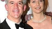 Scoundrels star Gregory Jbara and wife Julie.