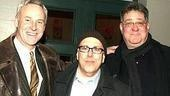 Democracy stars John Dossett, Lee Wilkof and Richard D. Masur.