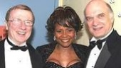 Tonya Pinkins (center) with Hearn and Charles.