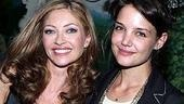 Speaking of Dawson's Creek...Rebecca Gayheart with Katie Holmes.