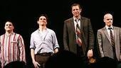 The men of The Pillowman take a bow.