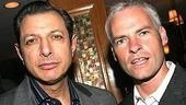 The Pillowman star Jeff Goldblum and playwright Martin McDonagh.