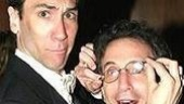 Robert Sella and Chip Zien, who play the bumbling spy duo of Boris and Goran.