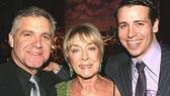 Hairspray stage manager Frank Lombardi, Gillian Lynne and Chitty ensemble star Matt Loehr.