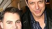 The Pillowman's Michael Stuhlbarg and Jeff Goldblum.