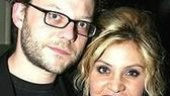Former Footloose co-starsJeremy Kushnier and Orfeh.