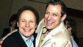 Drama League honorees Billy Crystal (700 Sundays) and Jeff Goldblum (The Pillowman).
