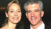 Nominee Gregory Jbara of Dirty Rotten Scoundrels with wife Julie.