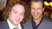 Featured Actor winners!Spelling Bee's Dan Fogler and The Pillowman's Jeff Goldblum.