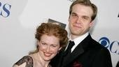 Mireille Enos and David Harbour, nominated for their turns as Honey and Nick in Who's Afraid of Virginia Woolf?.