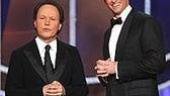 Tony winner Billy Crystal & host Hugh Jackman.