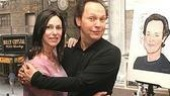 Billy Crystal at Sardi's - Janice Crystal - Billy Crystal