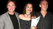 Co-stars Richard Thomas and Vanessa Aspillaga with director Mark Lamos.
