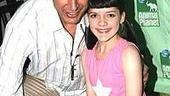 Jeff Goldblum gets close to The Pillowman co-star Madeleine Martin.