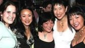 Avenue Q Anniversary/Las Vegas Party - Michelle Lane - Ming Lie Chen - Ann Harada - Angela Ai - Natalie Gray