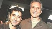 John Lloyd Young, who plays Frankie Valli,with co-librettist Rick Elice.