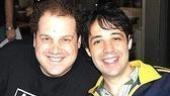 Avenue Q's Jordan Gelber with Spamalot's Steve Rosen.
