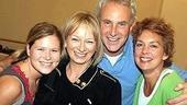 New Mamma Mia! cast in rehearsal - Carey Anderson - Judy Craymer - John Dossett - Michele Pawk