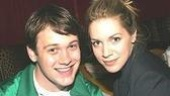 Michael Arden and Sara Chase.