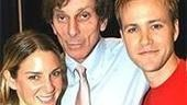 In My Life creator Joe Brooks (center) with stars Jessica Boevers & Christopher J. Hanke