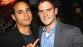 Daniel Sunjata shows his admiration for Steven Pasquale.