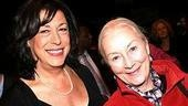 MTC Artistic Director Lynne Meadow with Rosemary Harris, who is starring in The Other Side at the theater.