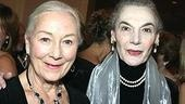 Award presenter Rosemary Harris with Marian Seldes.