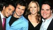 Jai Rodriguez, Hunter Foster, Angie Schworer and John Treacy Egan.