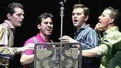 J. Robert Spencer, John Lloyd Young, Daniel Reichard & Christian Hoff in Jersey Boys