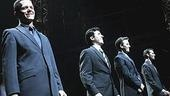 Jersey Boys Opening - Curtain Call - Christian Hoff - John Lloyd Young - Daniel Reichard - J. Robert Spencer