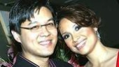 Robert Chien shows his pride for his wife, Lea Salonga.