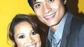 Lea Salonga and one of her onstage guests, Paolo Montalban.
