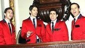 Jersey Boys at NYSE - Daniel Reichard - J. Robert Spencer - John Lloyd Young - Christian Hoff