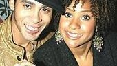 Wilson Jermaine Heredia and Tracie Thoms are ready for action!