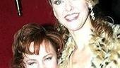 Two stage and screen crossovers: Kathy Fitzgerald and Angie Schworer.