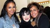 Chita River flanked by Diahann Carroll (right) and her daughter Suzanne Kaye (left).