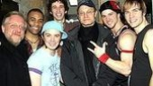 Spamalot Stars at Altar Boyz - Simon Russell Beale - David Hyde Pierce