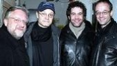 Spamalot Stars at Altar Boyz - Simon Russell Beale - David Hyde Pierce - Kevin Del Aguila - Gary Adler