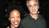 Nilaja Sun with Epic's honored man of the hour, Academy Award nominee David Strathairn.