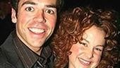 A Hairspray pair: Nick Dalton (Fender)and Chandra Lee Schwartz (Penny).
