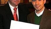 John Lloyd Young at Sardi's - Max Klimavicius - John Lloyd Young