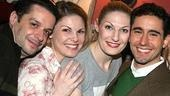 John Lloyd Young at Sardi's - Joe Calarco - Heather Ayers - Becca Ayers - John Lloyd Young