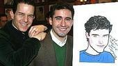 John Lloyd Young at Sardi&#39;s - John Lloyd Young - Christian Hoff